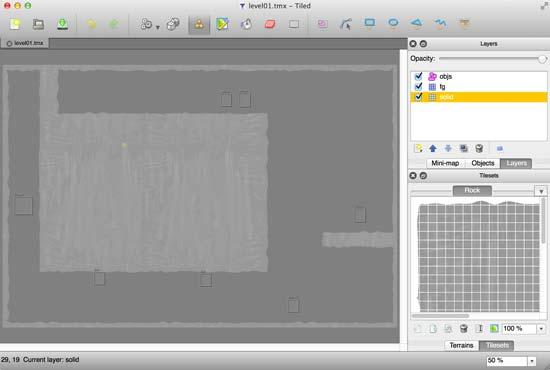 Creating TMX Tilemaps & Box2D Fixtures